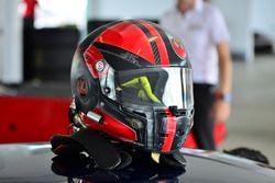 The helmet of Jon Miller