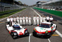 Porsche Takım elemanları, Porsche 919 Hybrid ve Porsche 911 RSR
