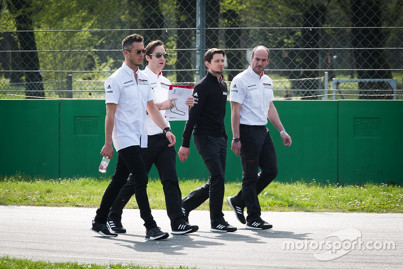 Trackwalk: Andre Lotterer, Porsche Team