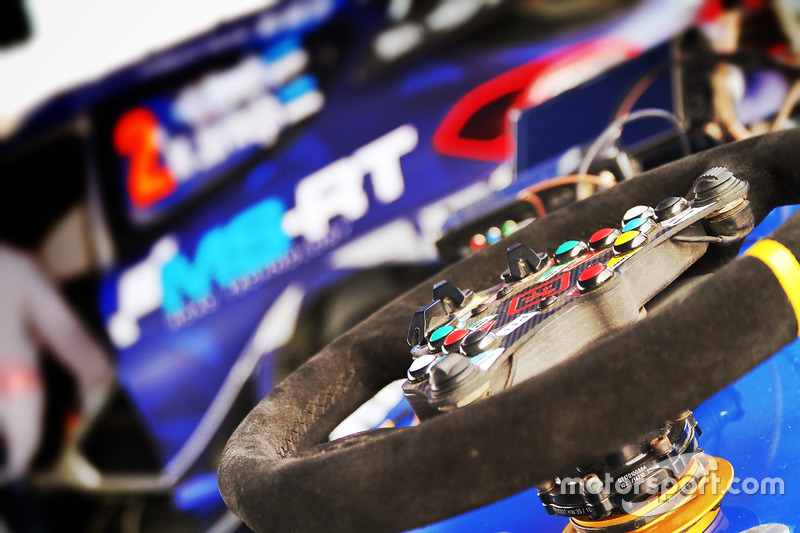 M-Sport Ford Fiesta WRC steering wheel