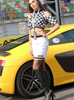 Hot JK Tyre girl