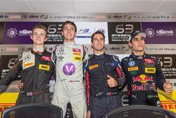 Qualifying Top 4 :pole position George Russell,2nd Callum Ilott,3rd Antonio Felix da Costa,4th Sergio Sette Camara