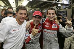 #8 Audi Sport Team Joest, Audi R18: Lucas di Grassi, Loic Duval, Oliver Jarvis
