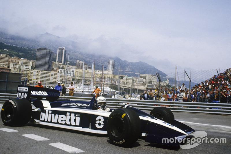 Elio de Angelis: Brabham (1982-1983 y 1986-1987)