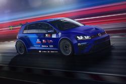 La VW Golf du WestCoast Racing