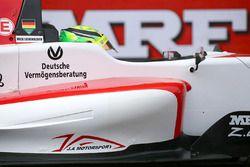 Mick Schumacher on the starting grid