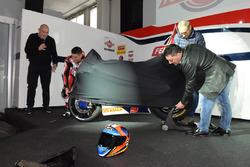 Jorge Navarro, Federal Oil Gresini Moto2, mit Fausto Gresini, Federal Oil Gresini Moto2, Teammanager