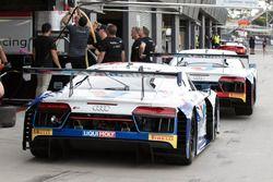#74 Jamec Pem Racing Audi R8 LMS, #75 Jamec Pem Racing Audi R8 LMS