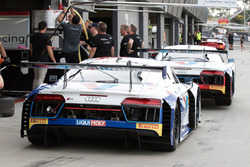 #74 Jamec Pem Racing Audi R8 LMS, #75 Jamec Pem Racing Audi R8 LMS
