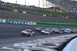 Kyle Busch, Joe Gibbs Racing Toyota, Matt Kenseth, Joe Gibbs Racing Toyota, Martin Truex Jr., Furnit