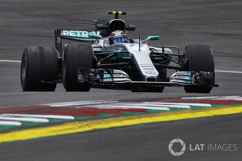 #8: Valtteri Bottas, Mercedes AMG F1 W08, Spielberg 2017: 1:04,251