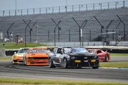 #38 TA4 Chevrolet Camaro, Bill Baten, #9 TA Dodge Challenger, Jeff Hinkle, American V8 Road Racing