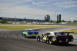 #44 TA2 Dodge Challenger, Adam Andretti, ECC Motorsports, #41 TA2 Chevrolet Camaro, Phil Lasco, Rigg