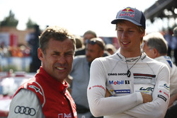 Tom Kristensen and Brendon Hartley