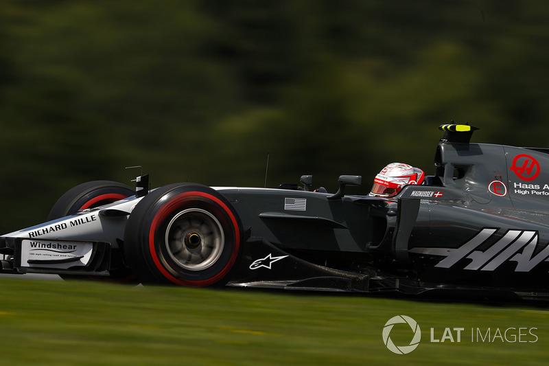 Abandon : Kevin Magnussen (Haas F1)