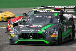 #85 HTP Motorsport Mercedes AMG GT3: Edward Sandström, Fabian Schiller, Dominik Baumann