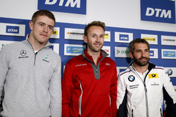 Pressekonferenz: Paul Di Resta, Mercedes-AMG Team HWA, Mercedes-AMG C63 DTM, René Rast, Audi Sport Team Rosberg, Audi RS 5 DTM, Timo Glock, BMW Team RMG, BMW M4 DTM