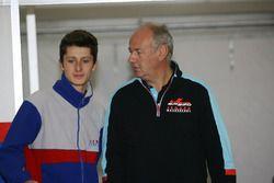 Giacomo Bianchi Biasca con Andreas Jenzer