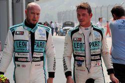 Rob Huff, Leopard Racing Team WRT, Volkswagen Golf GTi TCR, Jean-Karl Vernay, Leopard Racing Team WR
