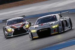 #21 Hitotsuyama Audi R8 LMS & #51 JMS LMcorsa RC F GT3