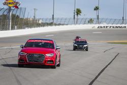 Audi hot lap pilotos