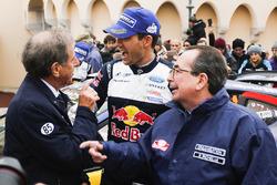 Le vainqueur Sébastien Ogier, M-Sport