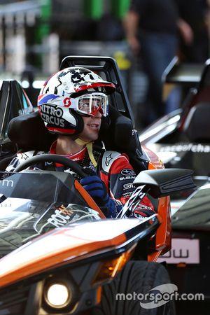 Travis Pastrana in the KTM X-Bow Comp R