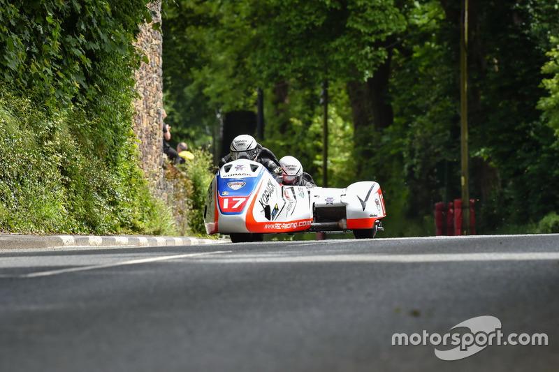 Sidecar TT 1: 19. Platz - Mike Roscher / Ben Hughes, Roscher Racing by Penz13.com