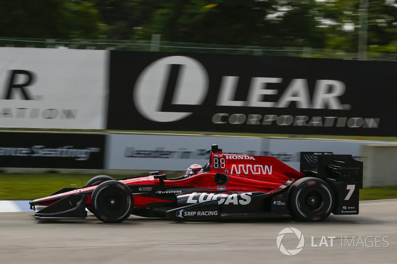Детройт: лучшая гонка в сезоне для Алешина