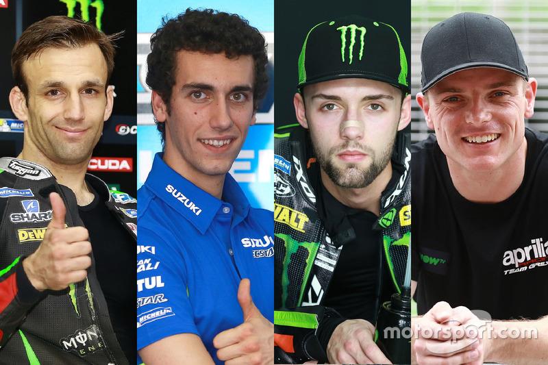 Los novatos de MotoGP 2017