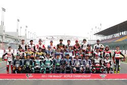 Moto3 rider line up