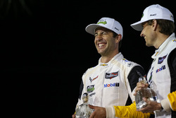 GTLM-Podium: 1. Antonio Garcia, Mike Rockenfeller, Corvette Racing