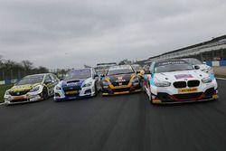 Tom Chilton, Power Maxed Racing Vauxhall Astra, Jason Plato, Team BMR Subaru Levorg, Gordon Shedden,