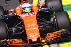 Le placement des caméras de la McLaren MCL32