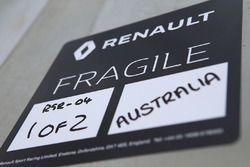 Renault fragile label