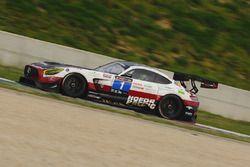 #1 Hofor-Racing, Mercedes AMG GT3: Michael Kroll, Chantal Kroll, Roland Eggimann, Kenneth Heyer, Christiaan Frankenhout