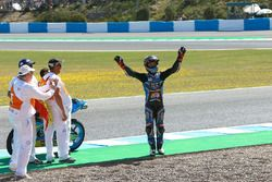 Race winnaar Aron Canet, Estrella Galicia 0,0