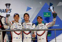 3. Timo Bernhard, Earl Bamber, Brendon Hartley, Porsche Team