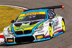 #100 BMW Team SRM BMW M6 GT3: Steve Richards, James Bergmuller