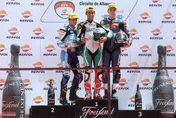 Podium Moto2 European Championship