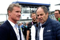 David Coulthard mit DTM-Chef Gerhard Berger