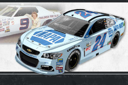 Throwback-Design: Chase Elliott, Hendrick Motorsports Chevrolet