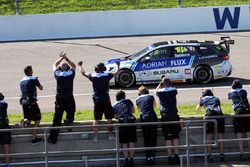 Race winner Ashley Sutton, Team BMR Subaru Levorg