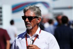 Комментатор Sky Sport F1 Дэймон Хилл