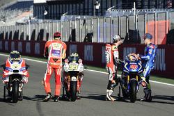 Andrea Iannone, Ducati Team, Cal Crutchlow, Team LCR Honda, Maverick Maverick Viñales, Team Suzuki E