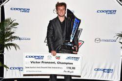 Pro Mazda champion Victor Franzoni