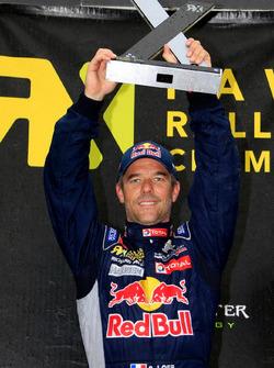 Podium: Sebastien Loeb, Team Peugeot-Hansen, Peugeot 208 WRX