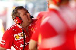 Dave Greenwood, Race Engineer, Ferrari