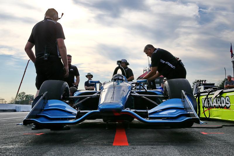 Juan Pablo Montoya teste la Chevrolet 2018