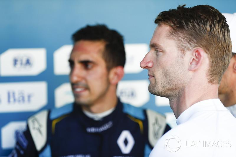 Sébastien Buemi, Renault e.Dams, and Maro Engel, Venturi